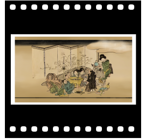 "Animation ""Hokusai Manga"""